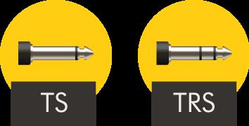 conectores ts e trs