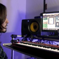 Alwin e software de gravação