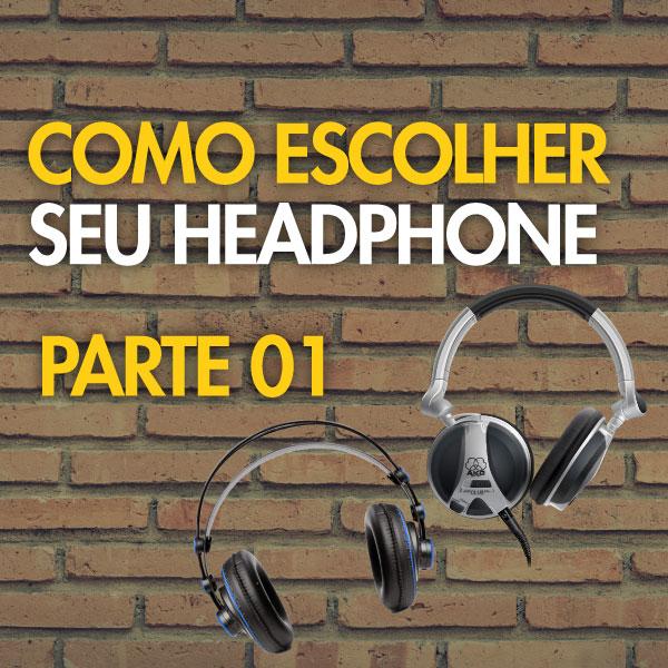 headfone para mixagem