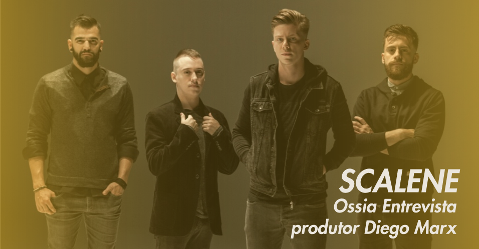 Entrevista com Diego Marx, produtor da Banda Scalene