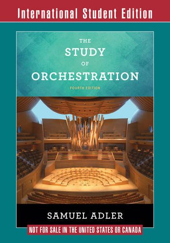 Study of Orchestration - Samuel Adler