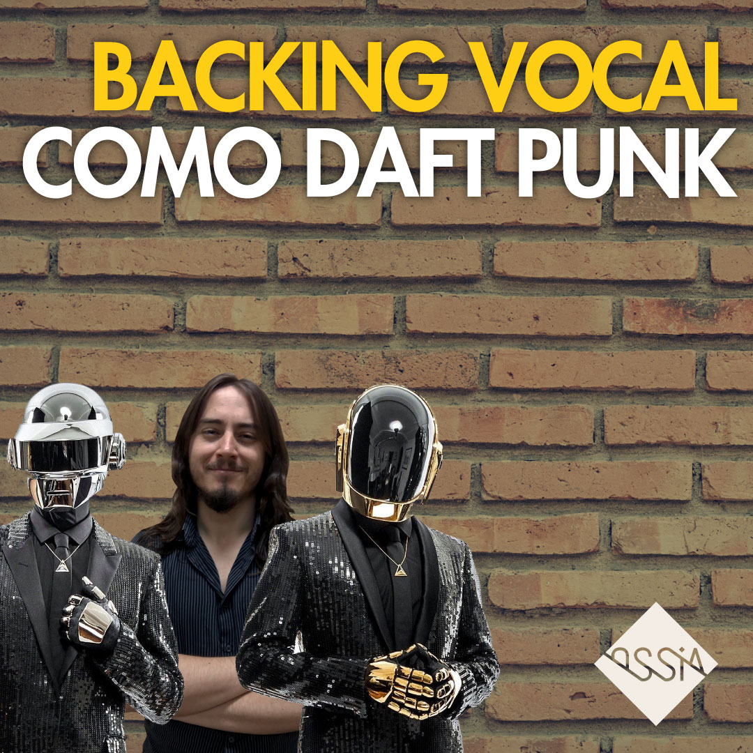 Como Fazer Segunda Voz (Backing Vocal) como Daft Punk