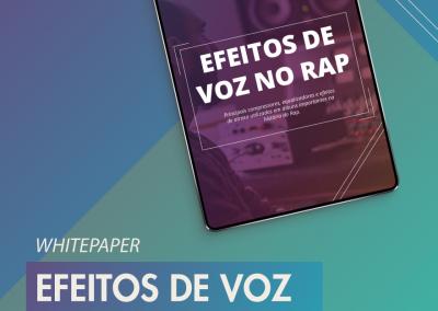 Efeitos de Voz no Rap