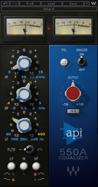 API 550 A
